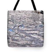 Chasing Snowflakes Tote Bag
