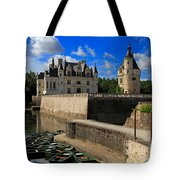 Chateau Chenonceau Loire Valley Tote Bag