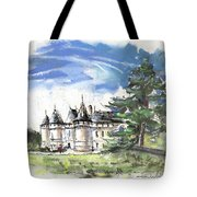 Chateau De Chaumont In France Tote Bag