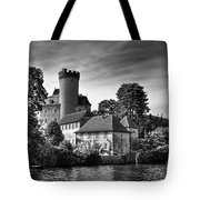 Chateau On The Lake At Annecy Tote Bag