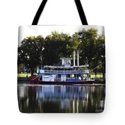 Chautauqua Belle On Lake Chautauqua Tote Bag