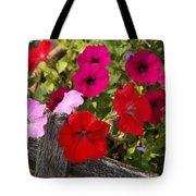Chawton Petunias Tote Bag
