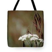 Cheatgrass And Common Yarrow Tote Bag