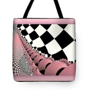 Checkers The Mouse Mechanical Tail Tote Bag
