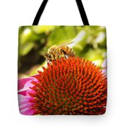Checking For Pollen Tote Bag