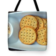 Cheese And Crackers Tote Bag