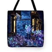 Chelsea Row At Night Tote Bag