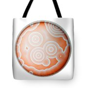 Chemical Waves In Bz Reagent 5 Of 9 Tote Bag