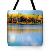 Chena Lake Drama Lll Tote Bag