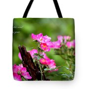 Cherokee Rose Card - Flower Tote Bag
