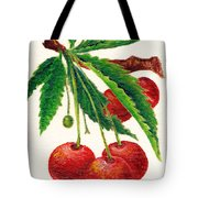 Cherries On A Branch Tote Bag