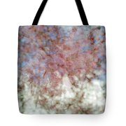 Cherry Blossom Abstract Tote Bag