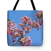 Cherry Blossom Branch Tote Bag