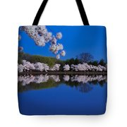 Cherry Blossoms And The Tidal Basin Tote Bag
