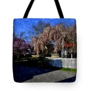 Cherry Blossoms Cbwc Tote Bag