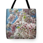 Cherry Blossoms Of The Sky Tote Bag