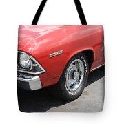 Cherry Chevelle Tote Bag