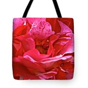 Cherry Chip Rose Petals Tote Bag