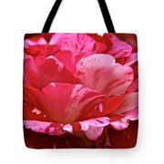 Cherry Chip Swirl Tote Bag