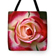 Cherry Vanilla Rose Tote Bag