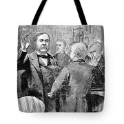 Chester Alan Arthur Tote Bag