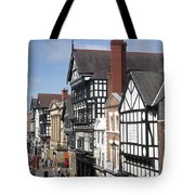 Chester City Skyline Tote Bag