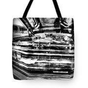 Chevelle - Black And White Tote Bag