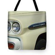 Chevrolet Apache 31 Fleetline Headlight Emblem Tote Bag