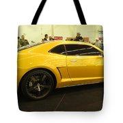 Chevrolet Camaro Bumblebee Tote Bag