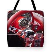 Chevrolet Corvette Steering Wheel Tote Bag