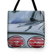 Chevrolet Corvette Tail Light Tote Bag