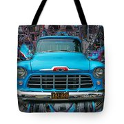 Chevrolet Pick Up Abstract Tote Bag