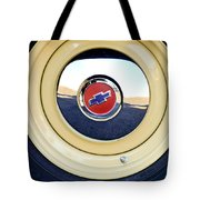 Chevrolet Wheel Emblem Tote Bag