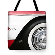 Chevrolette Corvette Sting Ray Convertible Tote Bag