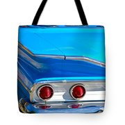 Chevy Bel Air Fin Tote Bag