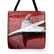 Chevy Bel Air Nomad Hood Ornament Tote Bag