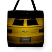 Chevy Camaro Covertible Rs Tail Tote Bag