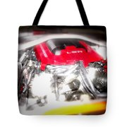 Chevy Camaro Engine Tote Bag