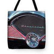 Chevy Dash Clock Tote Bag