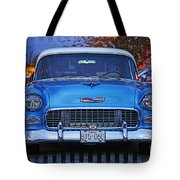 Chevy Front End Tote Bag