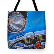 Chevy Headlight Tote Bag