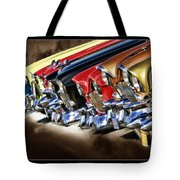 Chevy Line Up Tote Bag