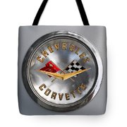 Chevy Racing Flags Tote Bag