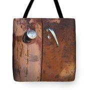 Chevy Truck Door Handle Detail Tote Bag