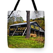 Chew Mail Pouch Painted Tote Bag