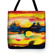 Cheyenne Sunset Tote Bag