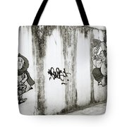 Chiang Mai Graffiti Tote Bag