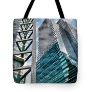 Chicago - A Sophisticated Finance Hub Tote Bag by Christine Till