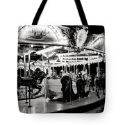 Chicago Carousel Tote Bag