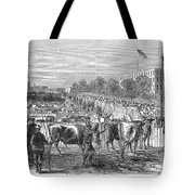 Chicago: Cattle Market Tote Bag